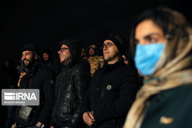 Iranian People Warmly Welcome Street Performances