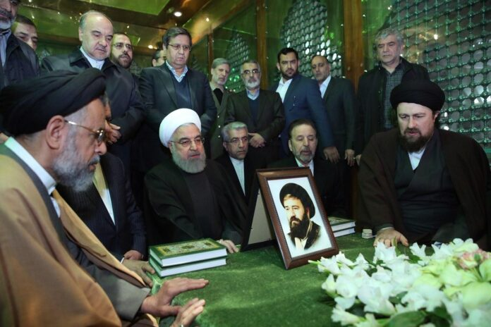 Rouhani, Cabinet Renew Allegiance with Imam Khomeini