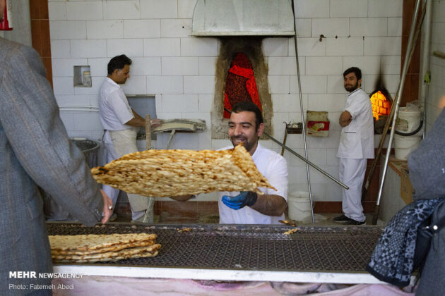 Sangak Traditional, Nutritious Bread of Iran (10)