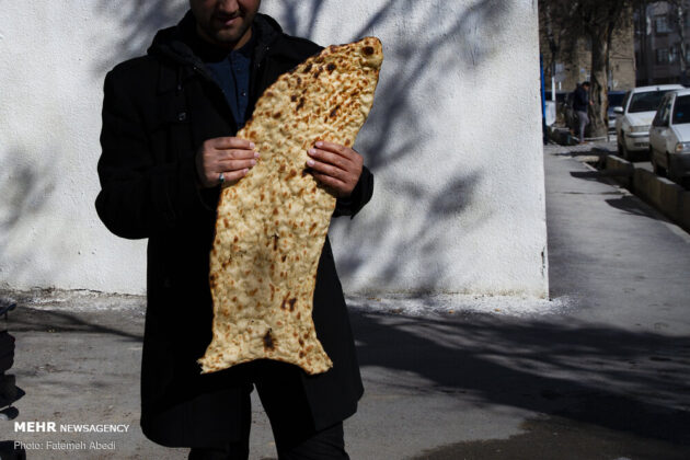Sangak, Iranian Traditional Bread