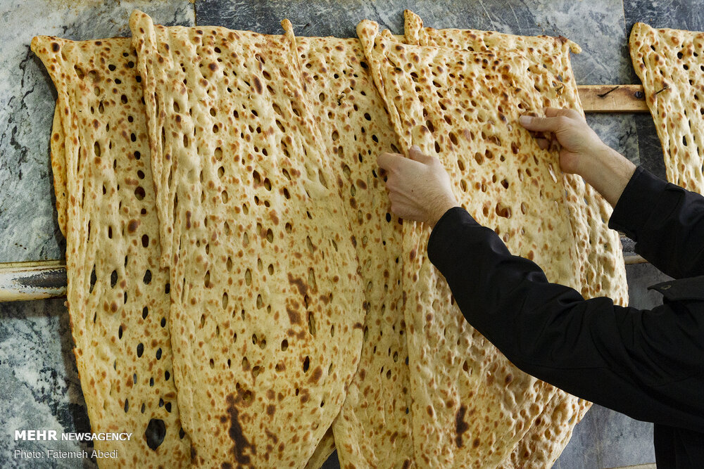 Sangak Traditional, Nutritious Bread of Iran (28)