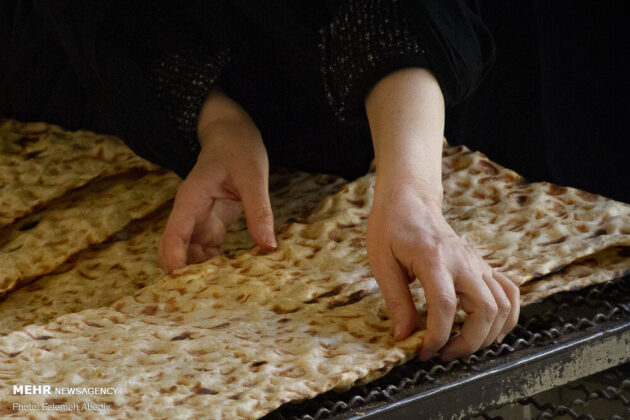 Making Bread in Iran