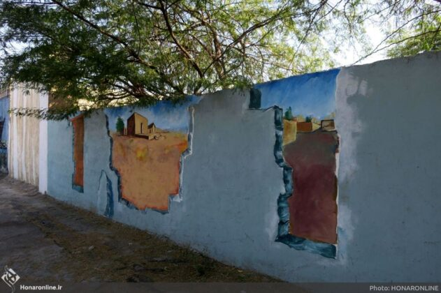 Wall Paintings in Chabahar