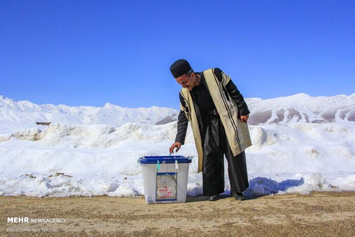 Voting in Remote Iranian Village
