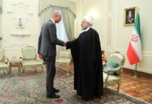 President Hassan Rouhan-Stef Blok