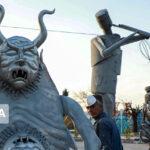 Sculpture Symposium Underway in Iran's Isfahan 3