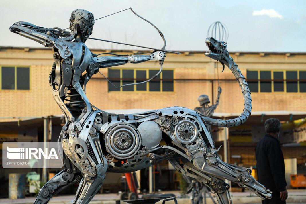 Sculpture Symposium Underway in Iran's Isfahan 9