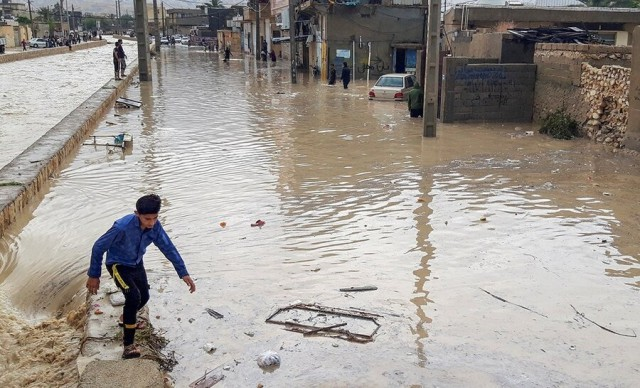 12 Killed,17 Injured in Iran Flash Floods