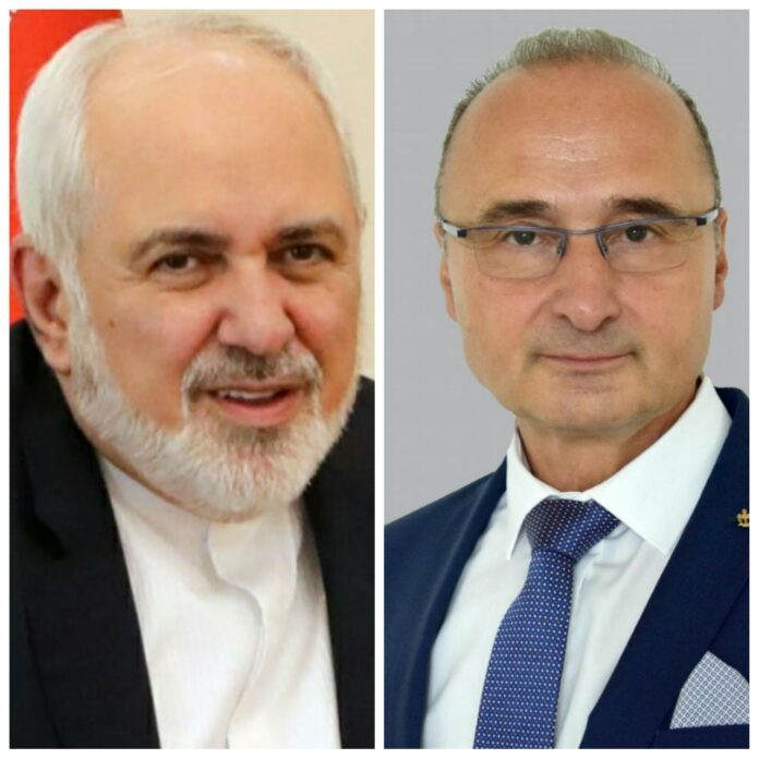 Iranian, Croatian FMs Discuss Corona Crisis