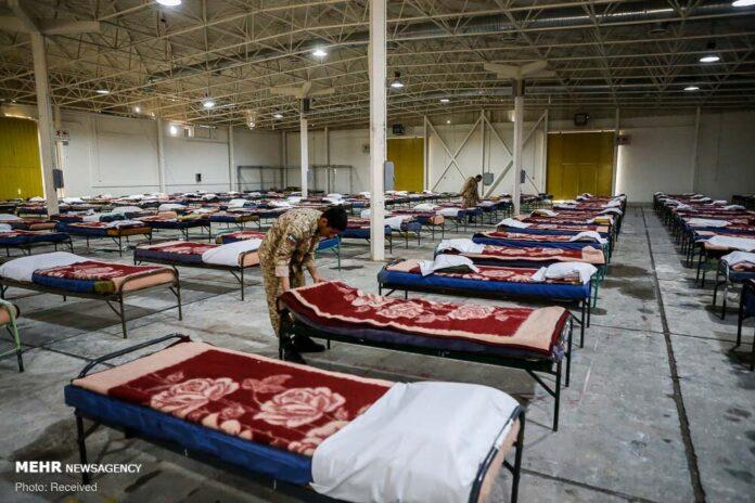Iran Army Opens 2,000-Bed Corona Rehabilitation Complex in Tehran