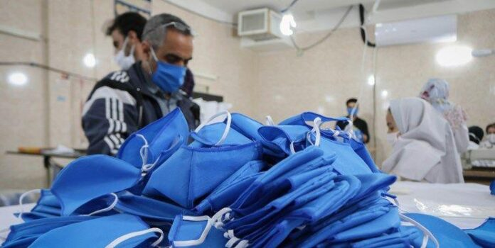 Iranian Nuclear Firms to Help Sterilise Homegrown Masks