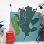 Tehran Preparing for Nowruz with Colourful Street Arts