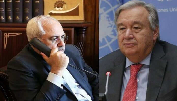 UN Chief Urges Removal of US Sanctions on Iran UN Chief Urges Removal of US Sanctions on Iran