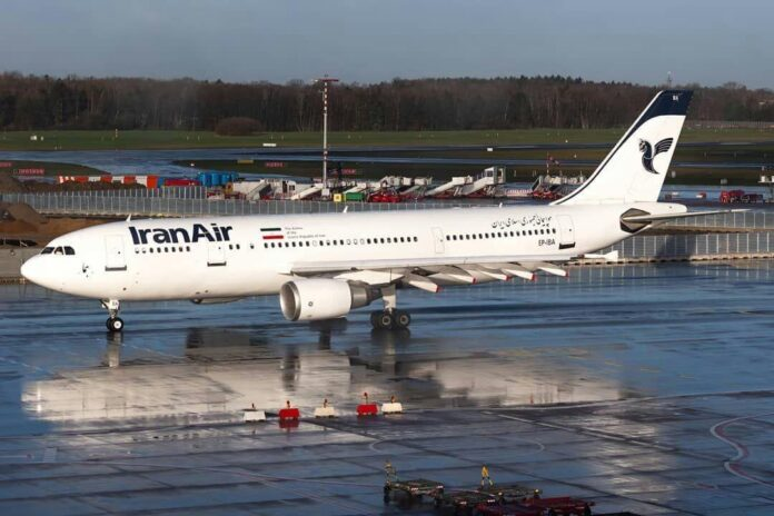 Iran Air Says All Flights to Europe Suspended Until Further Notice
