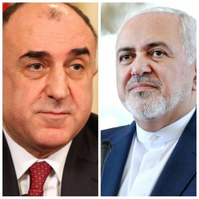 Top Iranian, Azeri Diplomats Discuss COVID-19 Outbreak