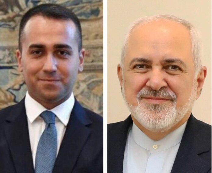 Iranian, Italian Foreign Ministers Discuss COVID-19 Crisis
