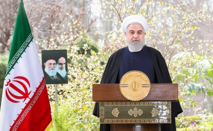 Things Looked Different in Iranian President's New Year Speech