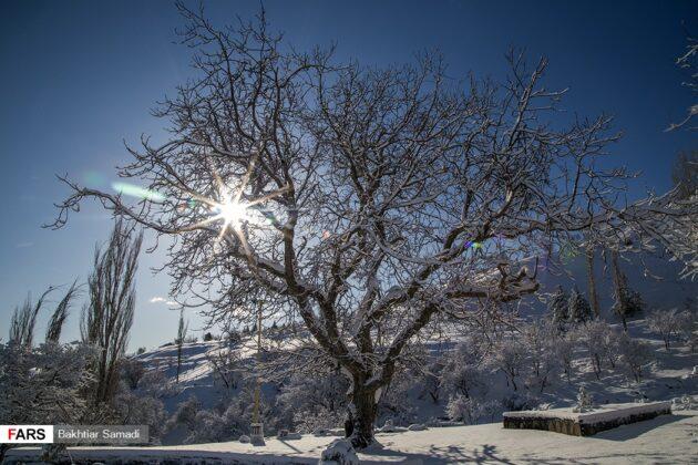 Nature of Sanandaj, Iran, in Winter