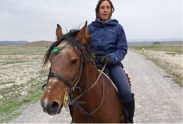 German Doctor Visits Iran to Travel Ancient Route on Horseback 1