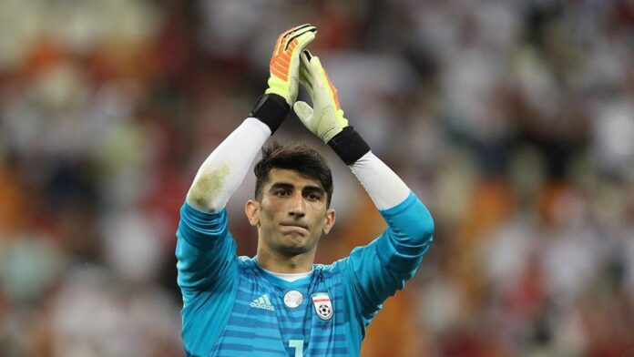 Iran's Beiranvand Picked as Asia's Best Footballer in World Cup History