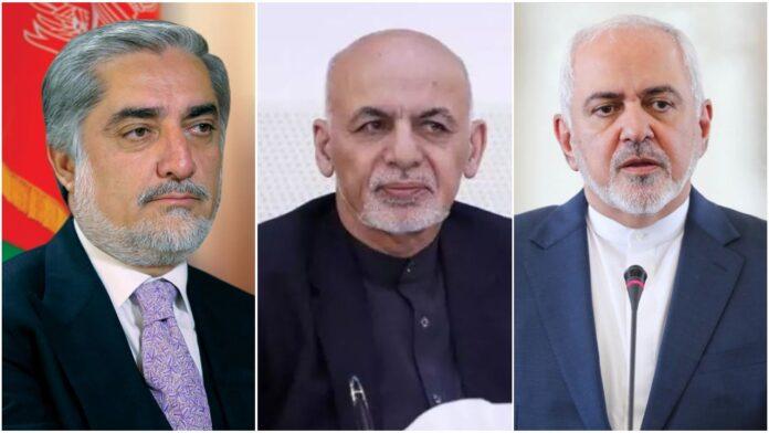 Iran Afrghanistan leaders