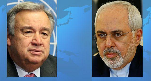 Iran FM, UN Chief Discuss Yemen, Afghanistan Crises
