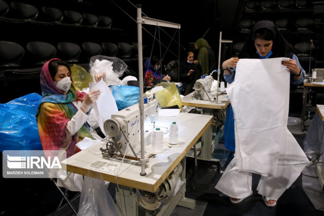 Mask Production in Iranian Theatre Hall