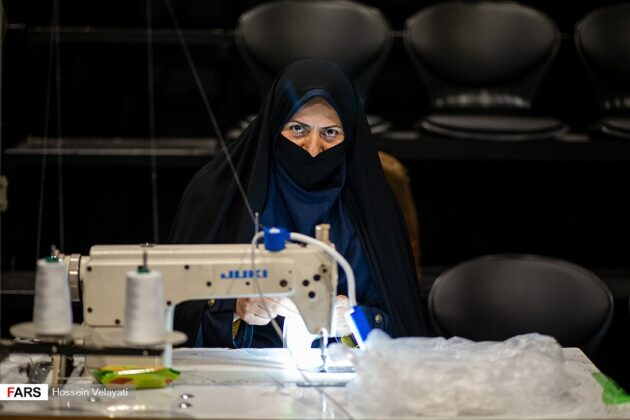 Iranian Artists Produce Mask at Hafez Hall of Tehran 5