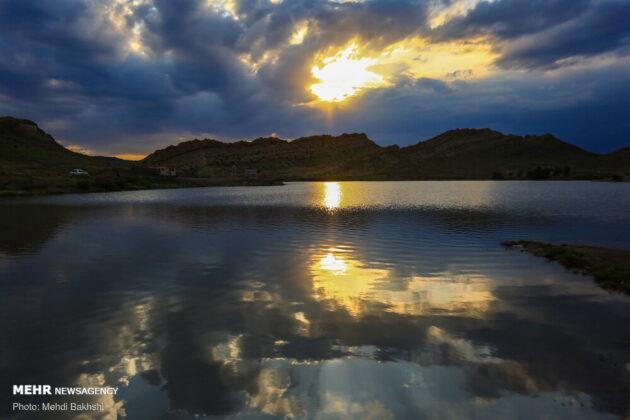 Beautiful Dam in Iran's Qom