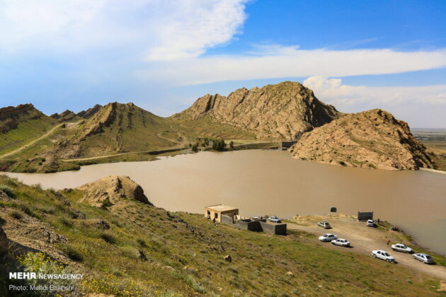 Kebar Dam, Central Iran