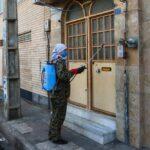 Russian Convert to Islam Disinfecting City of Qom