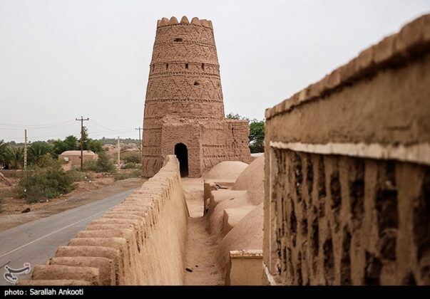 Shafi'abad Caravanserai of Kerman
