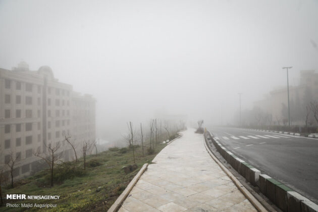 Iran Capital in Fog