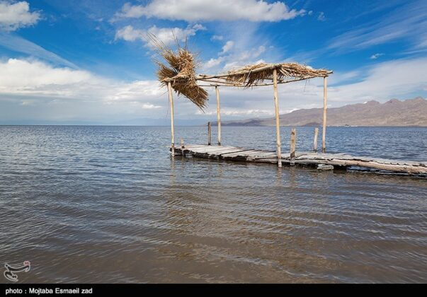 Urmia Lake in Spring