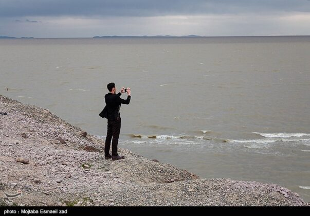 Water of Urmia Lake Raised