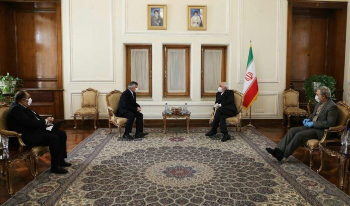 Zarif Meets Envoys of Iraq, Czech, Bulgaria, N Korea, Nicaragua 1