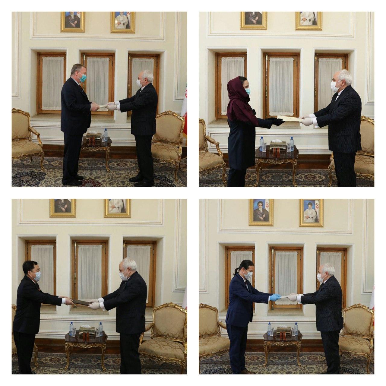 Zarif Meets Envoys of Iraq, Czech, Bulgaria, N Korea, Nicaragua 2