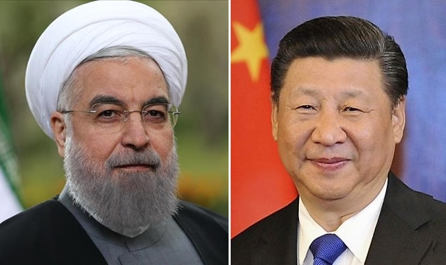 Iran, China Presidents Rap US for Sanctions amid Corona Spread