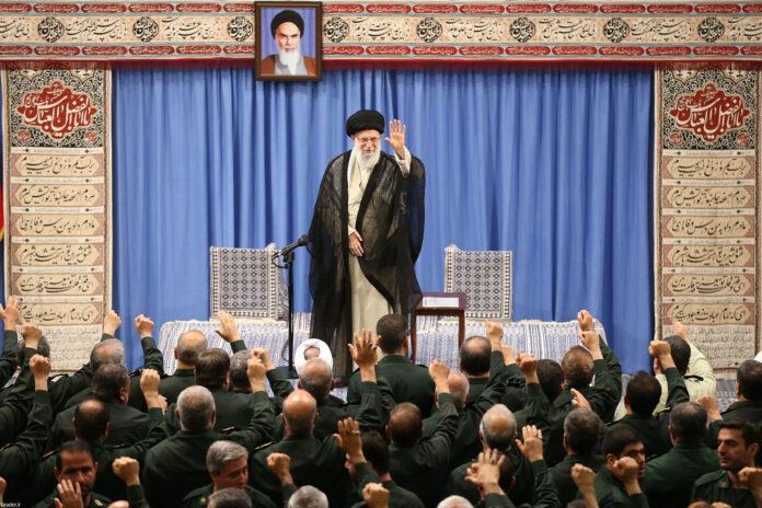 "Ayatollah Khamenei Thanks IRGC for Its ""Good Performance"""