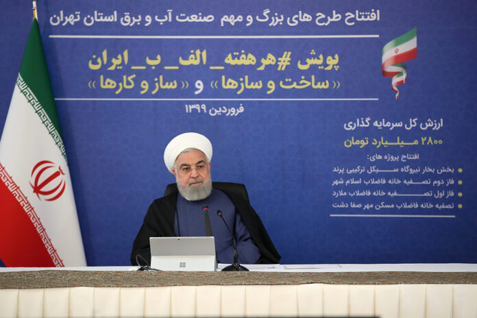 Iran Struggling with Virus of Sanctions amid COVID-19 Outbreak: Rouhani