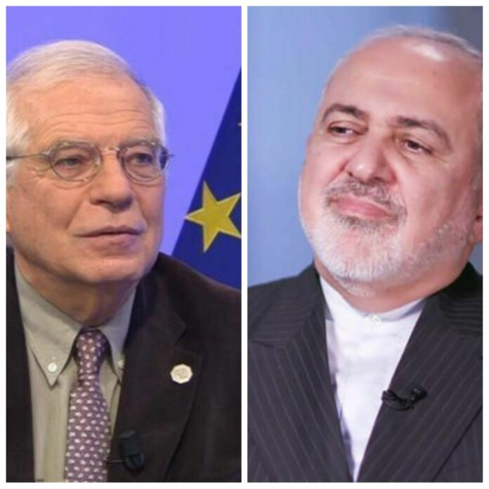 Iran's Zarif, EU's Borrell Discuss Fight against COVID-19
