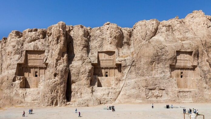 20 New Inscriptions Found in Iran's Naqsh-e Rostam Necropolis