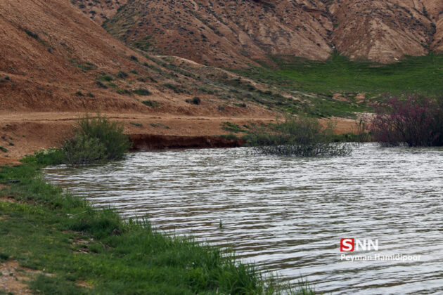 Abdolabad Earthen Dam Filled with Water 4