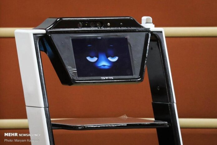 First Iranian LifeBot Medical Robot Unveiled in Tehran 2