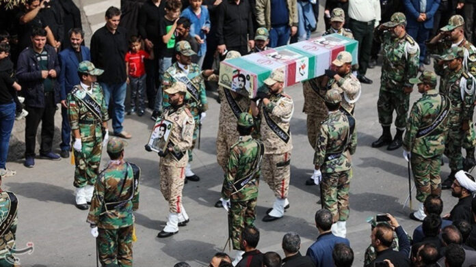 Funeral Held for 19 Victims of Naval Incident in Southern Iran