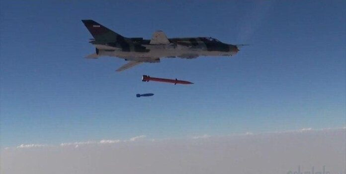 IRGC Fighter Jets Equipped with New Air-to-Surface Missiles