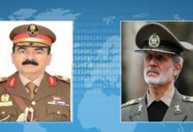 Iran's Defence Minister Pledges Full Support for New Iraqi Government