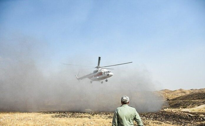 Iran Deploys Military Choppers to Put Out Zagros Wildlife 3