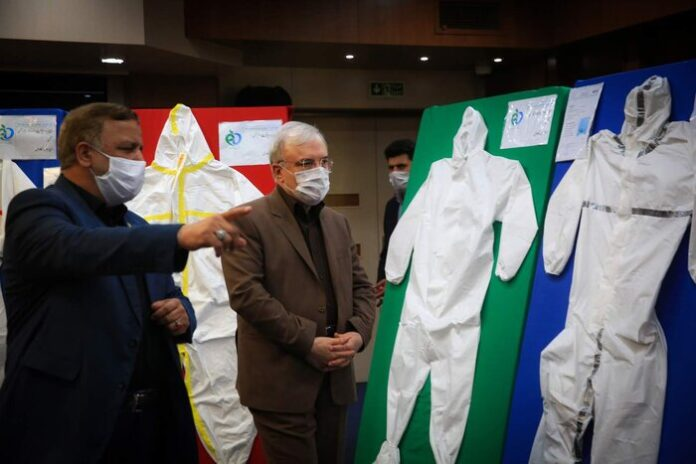 Iran Unveils Advanced Protective Suit for Medical Staff