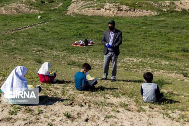 Iranian Couple Travel 90km Daily to Teach Their Students